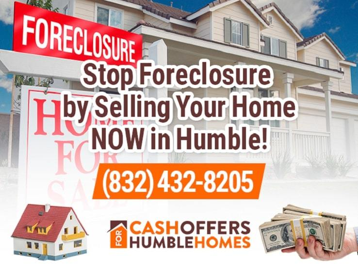 humble foreclosure